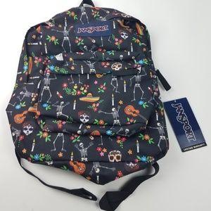 JanSport Backpack Day of the Dead design